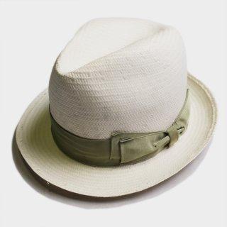 SHORT BRIM STRAW HAT