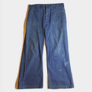 60's U.S. NAVY DECK PANTS