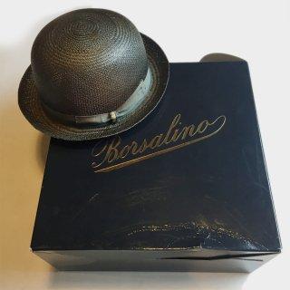 BOWLER STRAW HAT