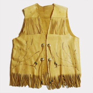 FRENCH WESTERN LEATHER VEST