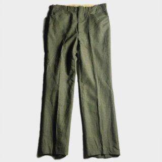 70's VIRGIN WOOL PANTS (SET UP)