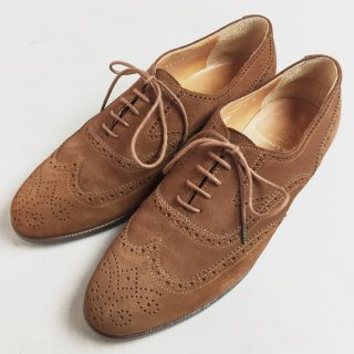 SUEDE WING TIP (26CM)