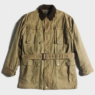 OILED COTTON HUNTING JKT (S)