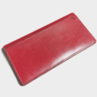 LONG LEATHER WALLET (18.5CM)