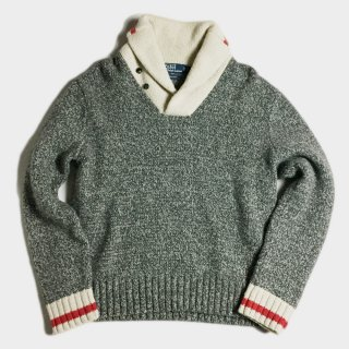 SHAWL COLLAR KNIT(L)