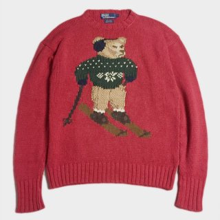POLO BEAR HAND KNIT(L)