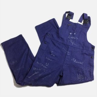 60's FRENCH WORK OVERALL