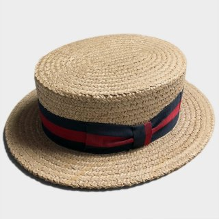 50's BOATER HAT (59CM)