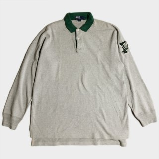 ORIGINAL P WING L/S POLO(M)