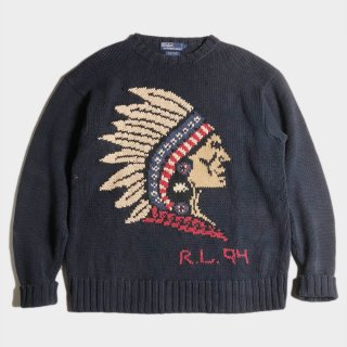 94 INDIAN HEAD SWEATER(L)