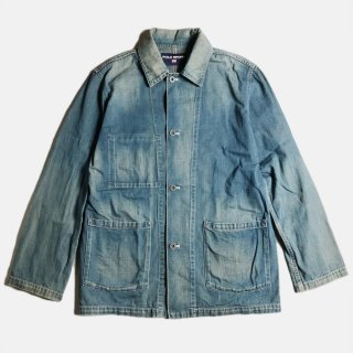 DENIM COVERALL (L)