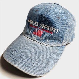 VINTAGE DENIM LOGO CAP(USA)