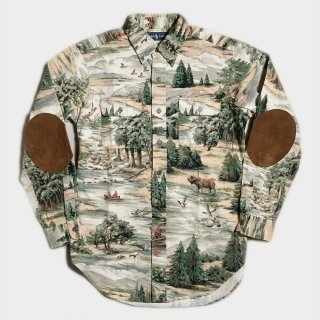HUNTING PATTERN SHIRTS(M)