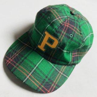 P LOGO CHECK CAP