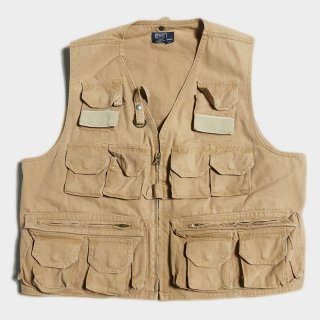 CANVAS FISHING VEST (USA-XL)