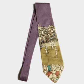 GOLF SILK TIE(USA)