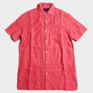 LINEN SHIRTS(PURPLE.L-L)