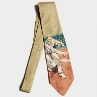 TENNISMAN SILK TIE (USA)
