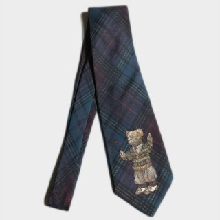POLO BEAR SILK TIE (DEAD-USA)
