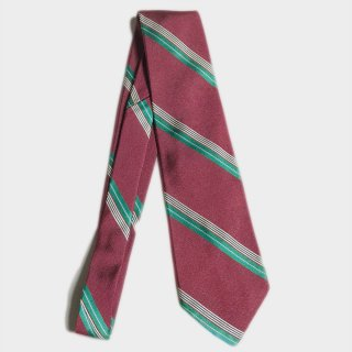 R.STRIPE SILK TIE(USA)