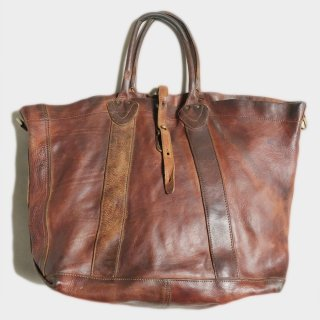 VINTAGE LEATHER TOTE (ITALY)