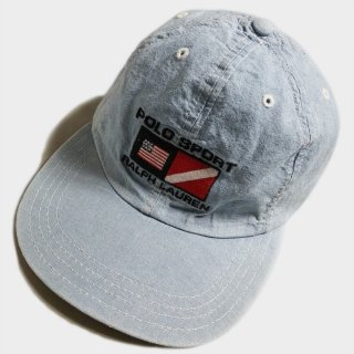 CHAMBRAY DENIM CAP(USA)