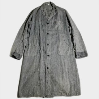 40's FRENCH S&P WORK COAT