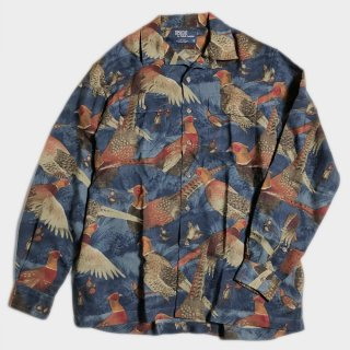 WOOL PHEASANT SHIRT(USA-L)