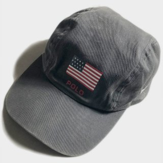 FLAG & USA SIDE LOGO CAP(USA)