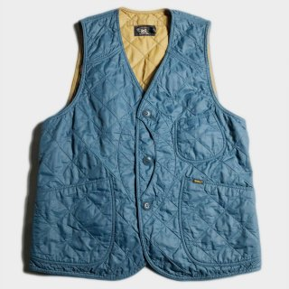 QUILTED MOON FACE VEST(M)