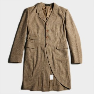 TWEED FROCK COAT(SAMPLE)