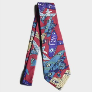 AIR PLAIN SILK TIE(USA)