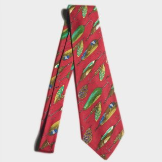 FISHING TOOLS SILK TIE(USA)