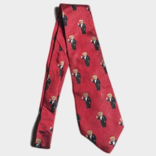 POLO BEAR ALLOVER TIE(USA)