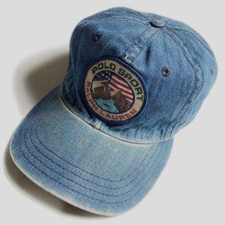 VINTAGE DENIM B.B. CAP(USA)