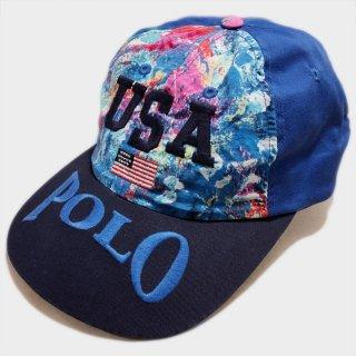 USA FLAG POLO CAP(USA)