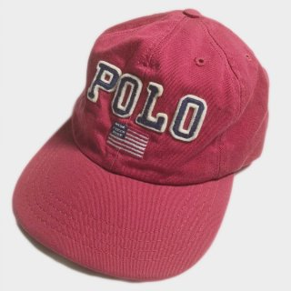 BIG POLO FLAG LOGO CAP(USA)