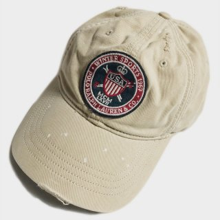 VINTAGE USA EMB PATCH CAP