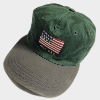 FLAG LOGO CAP(USA)