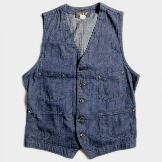 DENIM WORK VEST(USA-S)