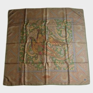 BIG SILK SCARF (PHEASANT)