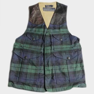OILED C. HUNTING VEST(USA-S)