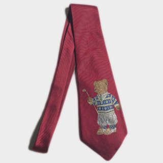 GOLF BIG POLO BEAR TIE(USA)