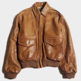 LEATHER A-2 JKT