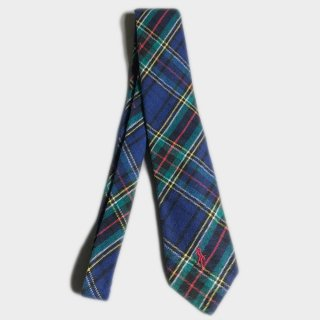 WOOL CHECK TIE(USA)