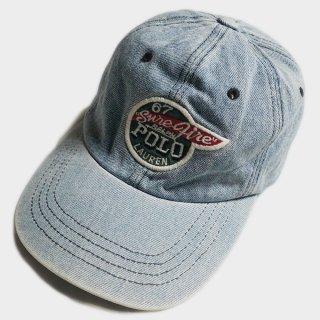 WING PATCH DENIM CAP(USA)