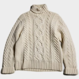 TURTLE CABLE KNIT(M)