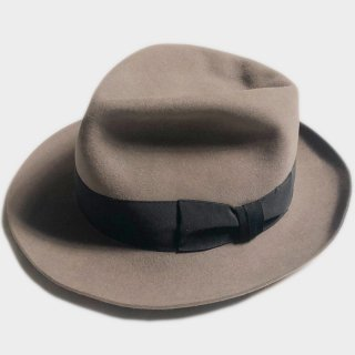 80's SUPER BIG FEDORA(63CM)