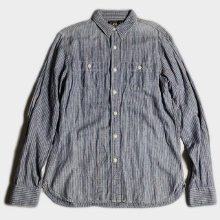 C/L STRIPE WORK SHIRTS(S)