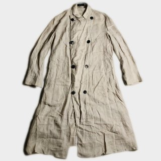 10's LINEN DOUBLE B. DUSTER COAT
